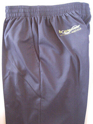 New! Bowlswear Men's Navy Blue Comfort Fit Trousers Only $47 with Free Postage!