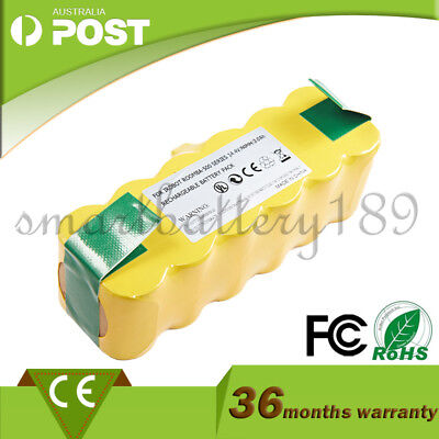 Battery For iRobot Roomba 500 3.0Ah Ni-MH HeavyDuty 510 535 550 560 580 630 780