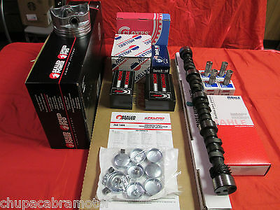FORD 351W EFI Marine MASTER Eng Kit NO Pistons+Rings+Cam+Lifters+