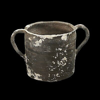Aphrodite- Ancient Holy Land Pottery Blackware Cup