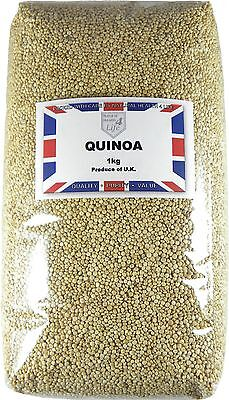 Quinoa Grain / Seed (Pearl) - 25g to 25kg (Now grown in the UK) Post Free