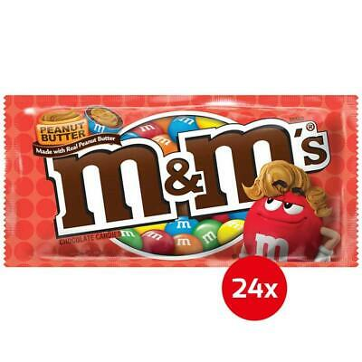 M&M's - Peanut Butter - chocolate candies (24x 46.2g)