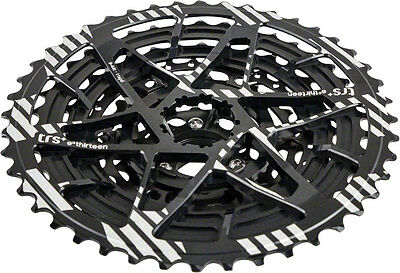 e*thirteen TRS Plus 11 speed 9-44t Bicycle Cassette for XD Driver Freehubs Black