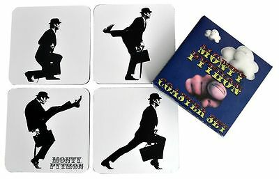 MONTHY PYTHON - Silly Walks Coaster Set (4) (Ikon Collectables) #NEW