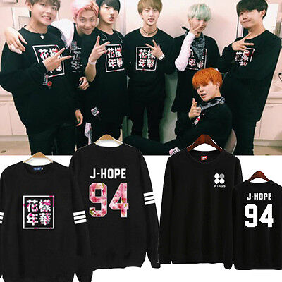 KPOP BTS Wings Sweater Bangtan Boys In Bloom Hoodie Jimin Suga Sweatershirt Jin
