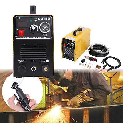 CUT50 Electric Air Plasma Cutter 50AMP Digital Inverter Cutting Portable Machine