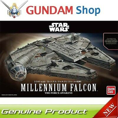 BANDAI Star Wars 1/144 Millennium Falcon The Force Awakens No. 202288 JAPAN