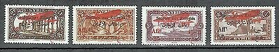 1926-SYRIE//SECOURS AUX REFUGIES//SERIE DE 4xTIMBRES NEUFS**STAMP.Y/T.PA.34/7