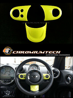MINI Cooper/S/ONE YELLOW MF Steering Wheel Cover R56 R57 Convertible R55 Clubman