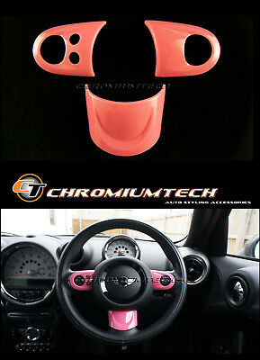 MINI Cooper/S/ONE PINK MF Steering Wheel Cover R56 R57 Convertible R55 Clubman