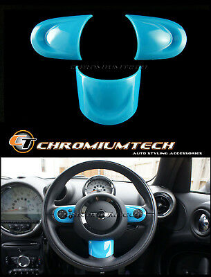 MINI Cooper/S/ONE R55 R56 R57 R58 R59 R60 R61 BLUE NON MF Steering Wheel Cover