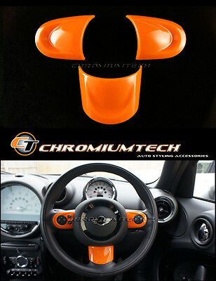 MINI Cooper/S/ONE R56 R55 R57 R58 R59 R60 R61 ORANGE NON MF Steering Wheel Cover