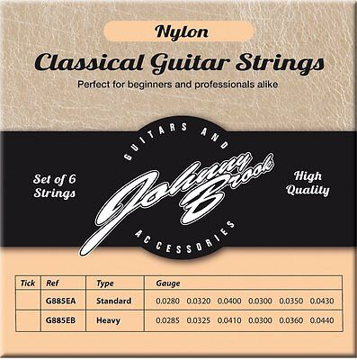 CLASSICAL GUITAR STRINGS HIGH Complete six string high quality
