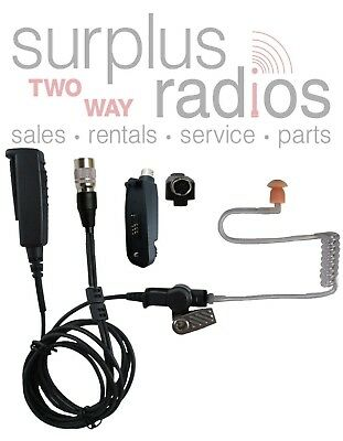 Pryme SPM-2383 2 Wire Tactical Police Lapel Mic Motorola APX4000 APX6000 APX7000