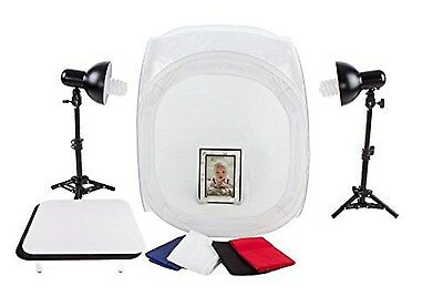 """StudioPRO 24"""" Portable Table Top Product Photography Lighting Tent Kit - Incl..."""