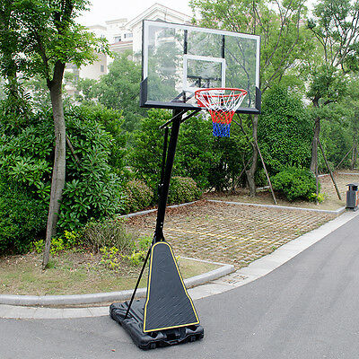 Pro Adjustable Portable Outdoor Basketball Stand Height Adjustable (2.3M-3.05M)