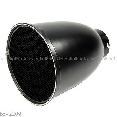 28cm 45° Long Focus Elinchrom Fit Reflector with Honeycomb Grid