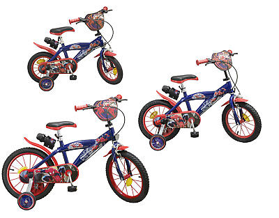 Kinderfahrrad Ultimate Spider-Man 12, 14, 16 Zoll Kinder Fahrrad Spiderman Top