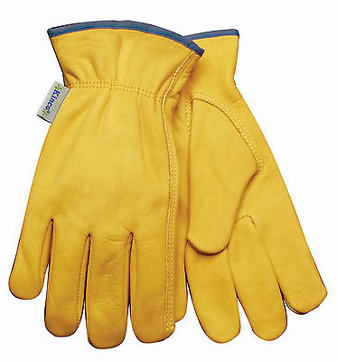 Kinco Women's Cowhide Unlined Drivers Multi-Purpose Work Gloves Choose Your Size