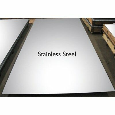 0.5mm 304 Stainless Steel sheet plate, any size custom cut free, profiles blanks