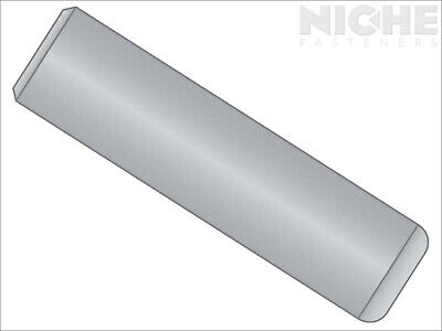 Dowel Pin Unhardened 1/8 x 2 300 Stainless Steel  (50 Pieces)