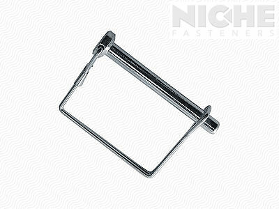 Snap Pin Sq 2Wire 3/8 x 2-1/4 ZC (10 Pieces)