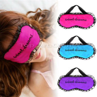 Eyepatch Rest Sleeping Eye Cover Mask Personalized lace Sleep Aid Mask for Girls