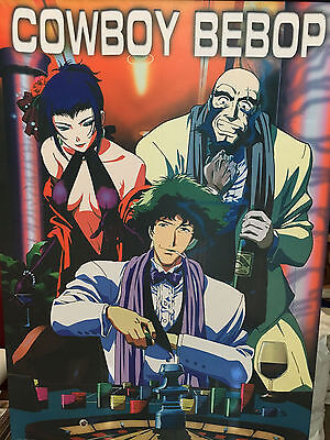 "2 Cowboy Bebop Wall Scroll Scrolls 42"" x 30"" and 43"" x 32"""
