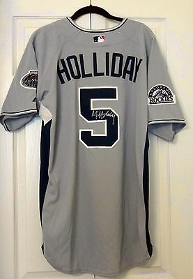 New Nwt: Matt Holliday Autographed Signed 2008 All Star Game Jersey (Cardinals)