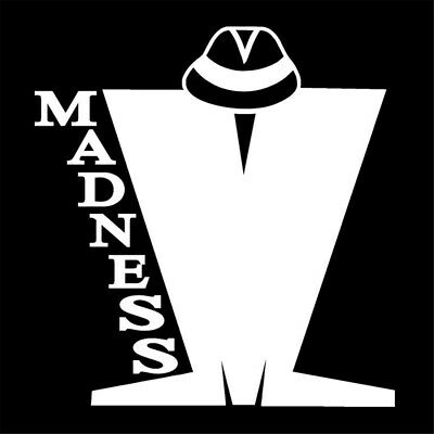 Madness Sign vinyl car sticker decal music band graphic group ska window scooter