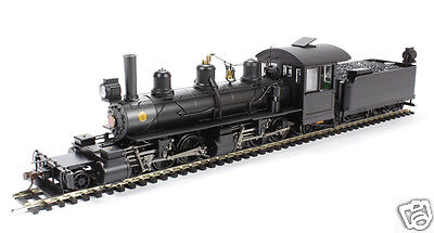 Bachmann On30 Painted, Unlettered - Black - 2-6-6-2 - DCC 28799