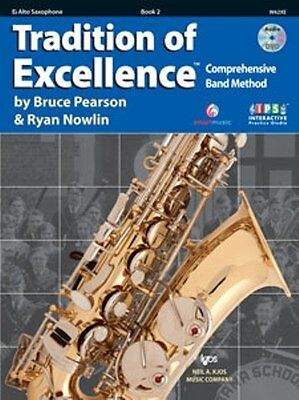 Tradition of Excellence Book 2 - Alto Saxophone, interactive practice studio.