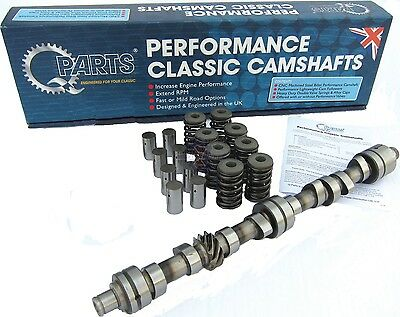 Brand New Performance Cam Camshaft + 8 Tappets (Lifters) + Springs MGB 1965-1980