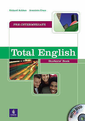Longman TOTAL ENGLISH Pre-Intermediate Student's Book with DVD @NEW@