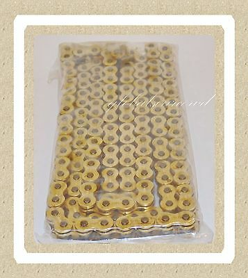 OE Spec Brand New High Quality Gold Non O-Ring Chain 520 Gold  520-140 Links