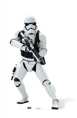 Stormtrooper Star Wars 1st Order Force Awakens Cardboard Cutout Stand Up Standee
