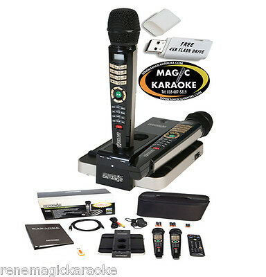 5145 TAGALOG ENGLISH SONGS 2017 MAGIC SING ET28KH karaoke 2 WIRELESS MIC USB BAG