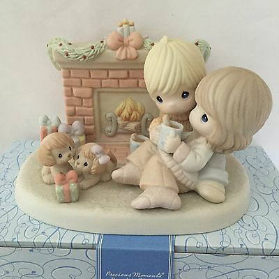 """Precious Moments - """" Your Love Warms My Heart """" - #810008 Limited Edition - NIB"""
