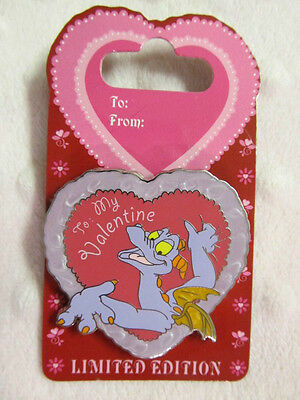 Disney Pin - Valentine's Day 2008 - To My Valentine Figment & Dreamfinder - New