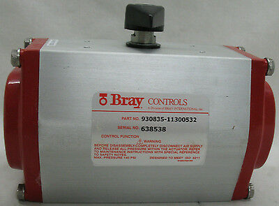 Bray Part # 930835-11300532 Serial # 638538 Pneumatic Actuator