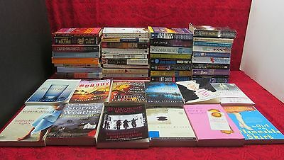 Huge Lot Of 50+ Great Paperback Books - Mystery Suspense Drama & More!!!