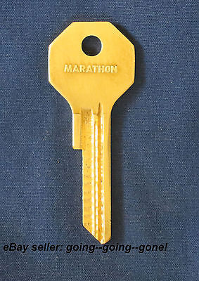 Rare! Vintage Marathon Oil Co Key Blank Y131 Chrysler Plymouth Dodge 1949-1955