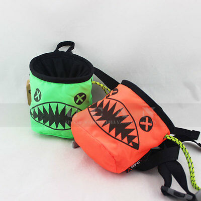 Kids Chalk Bag Pouch Children Climb Climbers ClimbX Rock Climbing Gear Equipment