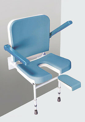 Disabled Contour Duo Shower Seat With Arm Rest