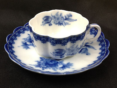 Royal Danube #1886 demi cup and saucer set of two pairs (4 Pieces)