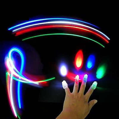 4 Fingertip  Light Show Adht Autism Relaxation Therapy Toy Mood
