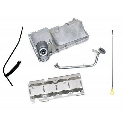 Chevy Engine Oil Pan Kit, Aluminum, For LS1, LS2, LS3 & LS6Engines, 1955-1957
