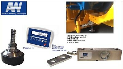 Wool Press Scale kit with Indicator - 800kg*0.2kg
