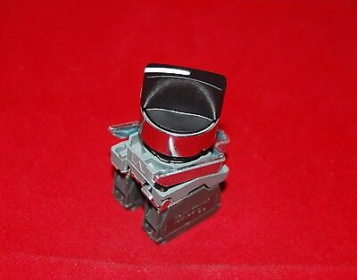 2PCS 22mm Select Maintain 2 Position  Fits XB4BD25 Selector Switch 1NO,1NC