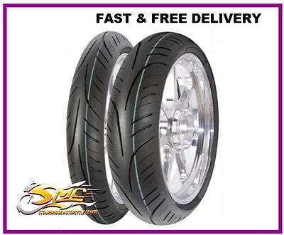 Honda Anf 125 Anf125 Innova Front & Rear Tubeless Motorcycle Tyre Pair Deal